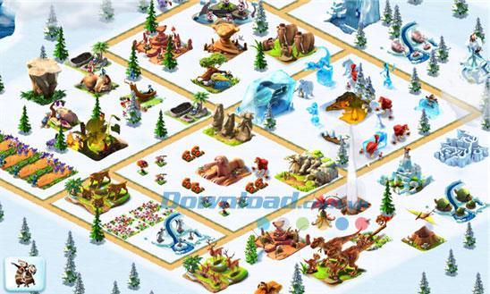 Ice Age Village pour Windows Phone 1.2.0.0 - Jeu de construction de la ville de l'âge de glace
