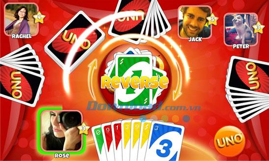 UNO&Friends for Windows Phone-WindowsPhoneのカードゲーム