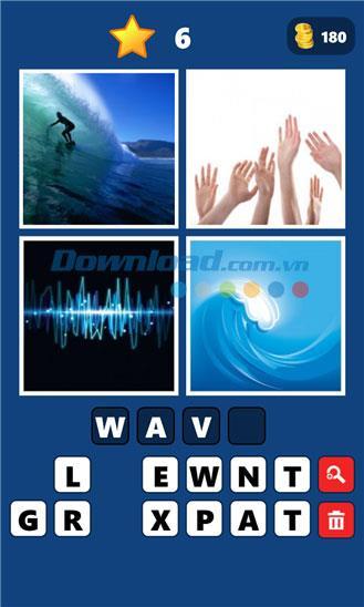 4 Bilder 1 Word für Windows Phone 1.9.0.0 - Spiel mit Wortraten unter Windows Phone