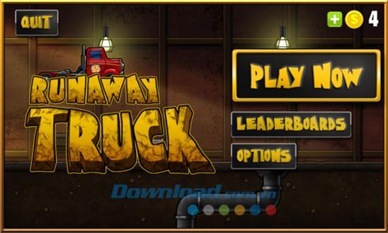 Runaway Truck für Windows Phone 2.1.0.0 - Spiel zum Fahren von Trucks unter Windows Phone