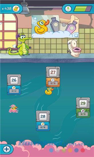 Wo ist mein Wasser 2 für Windows Phone - Krokodil-Badespiel auf Windows Phone