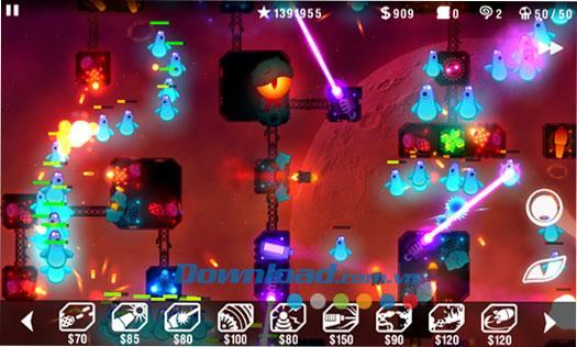 Radiant Defense für Windows Phone 2.0.0.0 - Tower Defense-Spiel für Windows Phone