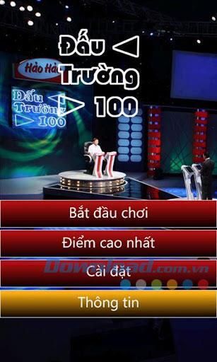 Arena 100 für Windows Phone 1.0.1.0 - Game Show Fernsehen