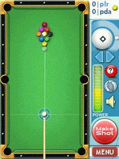 Billard Master für Pocket PC 2.0 - Billardspiel für Pocket PC