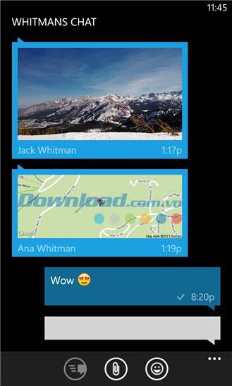 WhatsApp für Windows Phone - Chat, kostenlose Anrufe auf Windows Phone