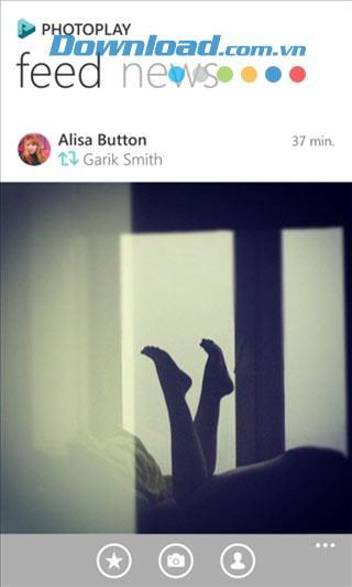 Photoplay pour Windows Phone 1.2.3.0 - Réseau social de partage de photos sur Windows Phone