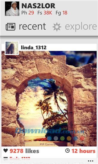 Métrogramme pour Windows Phone 4.0.1.0 - Utilisez Instagram sur Windows Phone