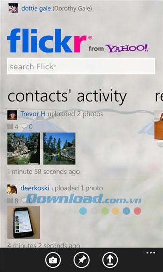 Windows Phone2.1.0.0用のFlickr-WindowsPhone用のFlickr写真ソーシャルネットワーク