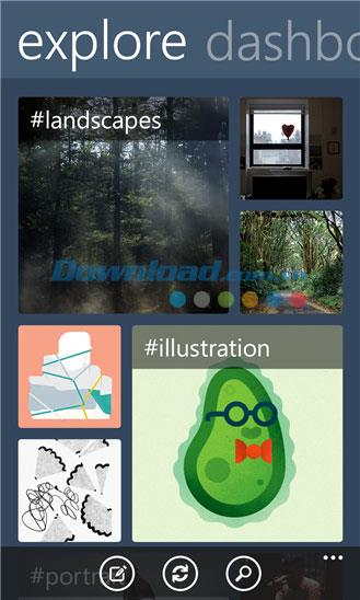 Tumblr für Windows Phone 1.0.1.7 - Tumblr Social Network für Windows Phone