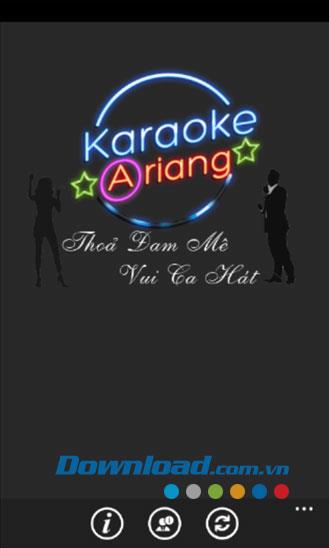 Karaoke für Windows Phone 1.0.0.4 - Schlagen Sie die Liste der Karaoke Ariang 5-Nummern nach