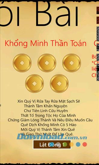 Boi Khong Minh für Windows Phone 1.0 - Umfassende Wahrsagungssoftware