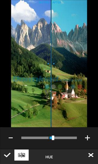 Photo Editor Pro pour Windows Phone 2.0 - Application d'édition de photos sur Windows Phone