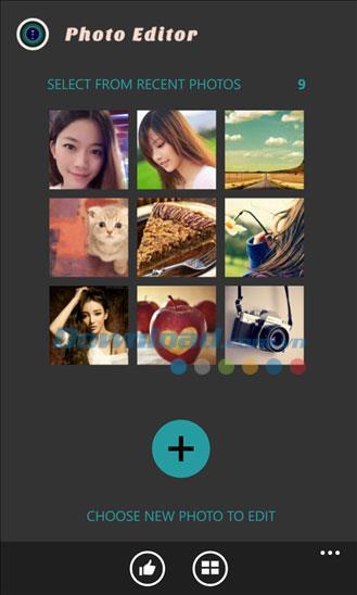 Photo Editor HD für Windows Phone 1.0.0.0 - Multifunktions-Fotobearbeitung unter Windows Phone