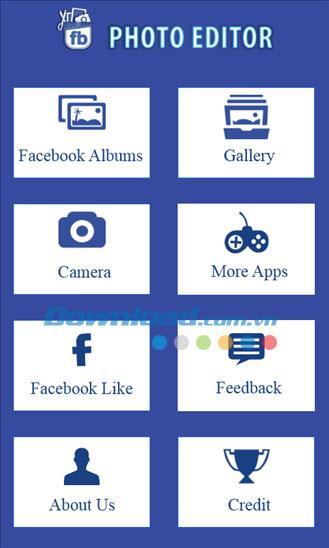 Windows Phone1.0.0.0用のFBフォトエディター-WindowsPhoneでFacebookの写真を編集する