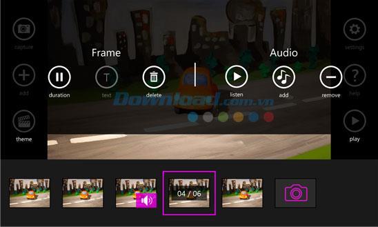 Stop Motion Studio pour Windows Phone 1.2.0.0 - Application pour créer des films Stop Motion sur Windows Phone