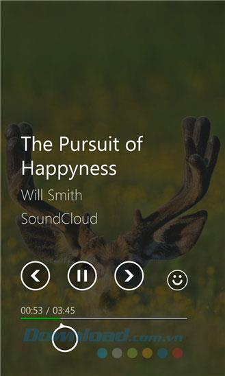 QuickPlay für Windows Phone 1.3.0.0 - Anwendung zum Hören von Musik und zum Ansehen von Videos nach Emotionen unter Windows Phone
