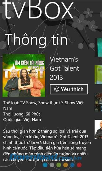 tvBox for Windows Phone1.7.1.0-オンライン映画およびテレビ視聴アプリケーション