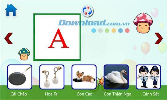 Windows Phone3.1.0.0の単語を学ぶ子供たち-子供たちにベトナム語を教えるためのアプリケーション