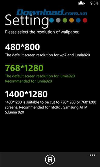 Hintergrundbild HD für Windows Phone 2.0.2.0 - Hintergrundbildanwendung für Windows Phone