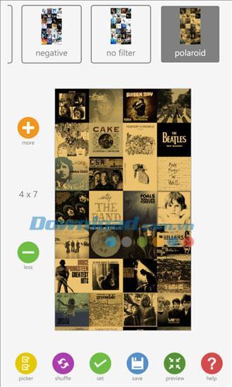 Imagefusion pour Windows Phone 2.8.0.0 - Conception de l'écran de verrouillage pour Windows Phone