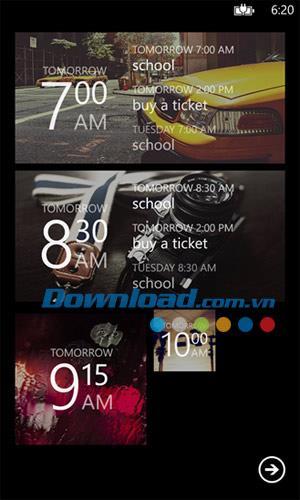 Realarm pour Windows Phone 0.9.8.6 - Définir des alarmes sur Windows Phone