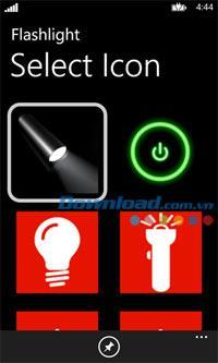 Lampe de poche pour Windows Phone 3.7.0.0 - Transformez votre Windows Phone en lampe de poche