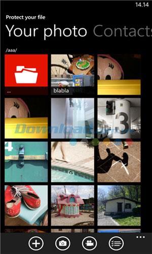 Protégez votre fichier pour Windows Phone 2.0.1.1 - Sécurisez les données sur Windows Phone