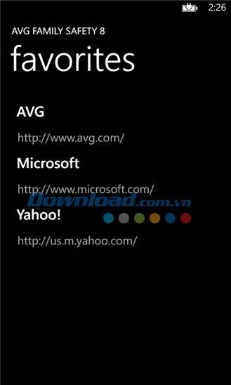 AVG Family Safety 8 pour Windows Phone 3.0.0.0 - Surfez sur le Web en toute sécurité sur Windows Phone