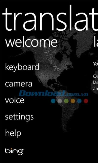 Windows Phone2.9.2.0用のBing翻訳-WindowsPhoneのBing翻訳ツール