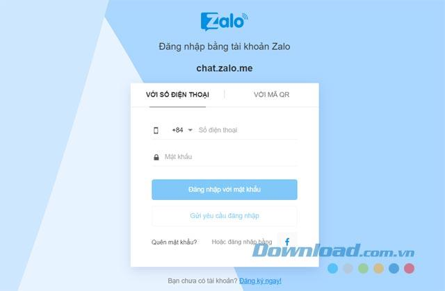 Zalo Web - Melden Sie sich bei Zalo direkt bei Google Chrome, Coc Coc, Firefox ...