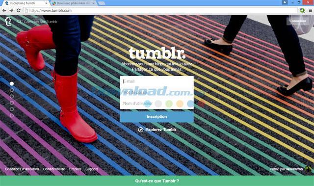 Tumblr - Ein Microblogging-Dienst und ein soziales Netzwerk
