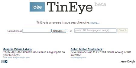 TinEye - Traçage de vos photos en ligne