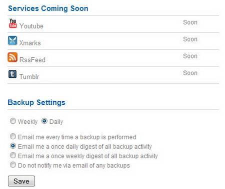 Backupify - Kostenloses Online-Backup für 13 bekannte Dienste