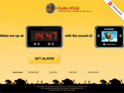 Kuku Klok - Alarme en ligne