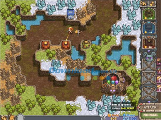 CursedTreasure-宝物を守るゲーム