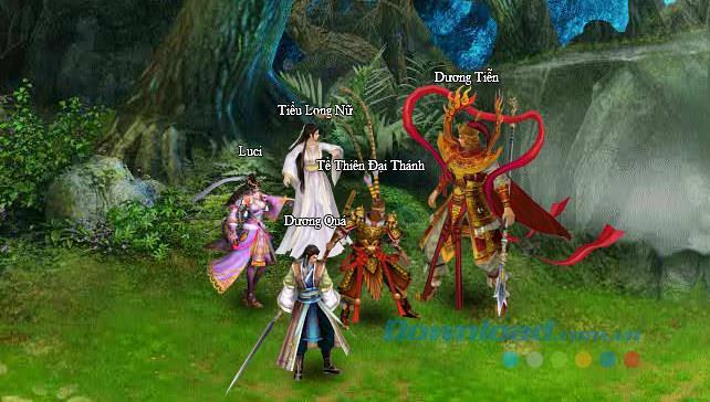 Monde mixte - jeu d'épée