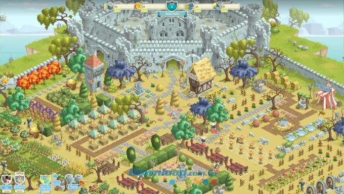 Kingdom Quest - Jeu de construction d'empire sur Facebook