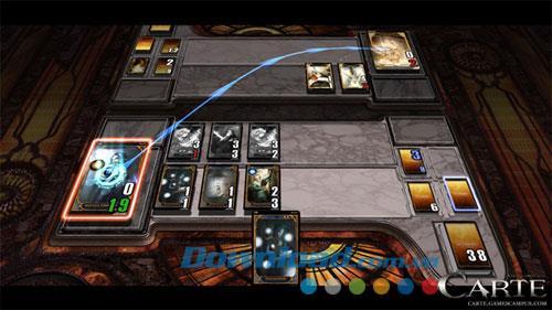 Karte - Magisches Kartenspiel