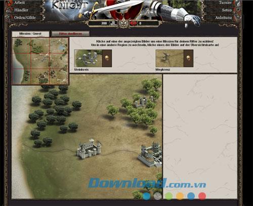 BattleKnight - Le jeu de chevalier du Moyen Âge