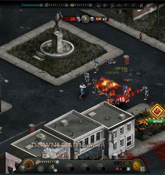 Citizen Grim - Détruisez les zombies sanguinaires