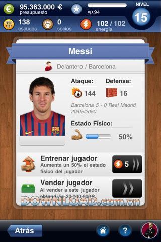 FC Barcelona Fantasy Manager - FC Barcelona Teammanager