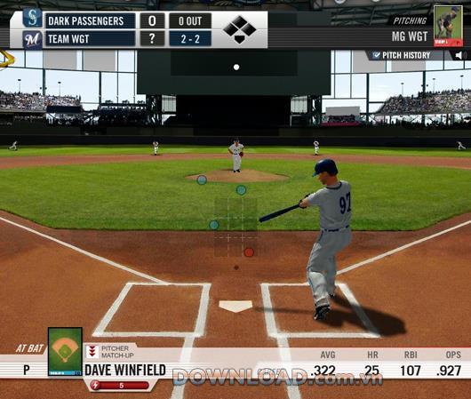 WGT Baseball: MLB - Verwalten Sie die Baseballmannschaft