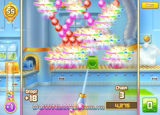 Bubble Blitz - Ballschießspiel auf Facebook