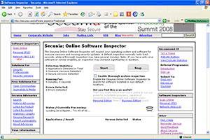 Inspecteur de logiciels en ligne