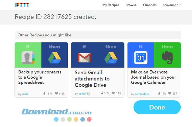 IFTTT - Connectez les applications en ligne
