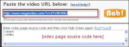 ClipNabber-Megavideoから映画をダウンロードする方法