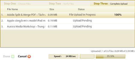 Filebox - kostenloses Archiv mit bis zu 488 GB