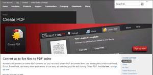Adobe PDF erstellen