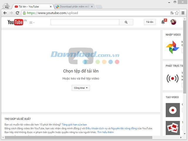 YouTube-YouTubeビデオを表示、ダウンロード、共有する