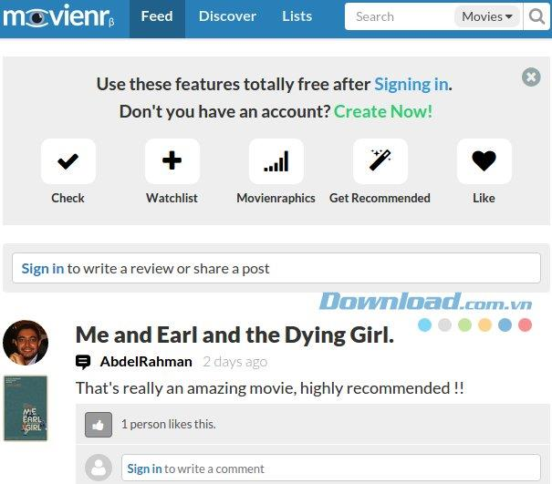 Movienr-最新の映画の更新